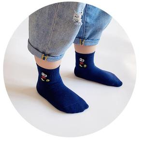 5 Paare/los 1-15Y Infant Baby Socken Baby Socken für Mädchen Baumwolle Cartoon Minnie Nette Neugeborene Junge Kleinkind Socken Baby Zubehör