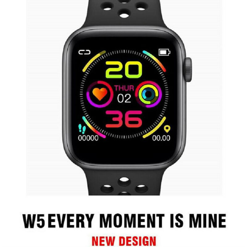 W5 Smart Watch Sport Wristband Heart Rate Monitor Calories Fitness Tracker IP67 Waterproof Bluetooth Smartwatch For IOS Android