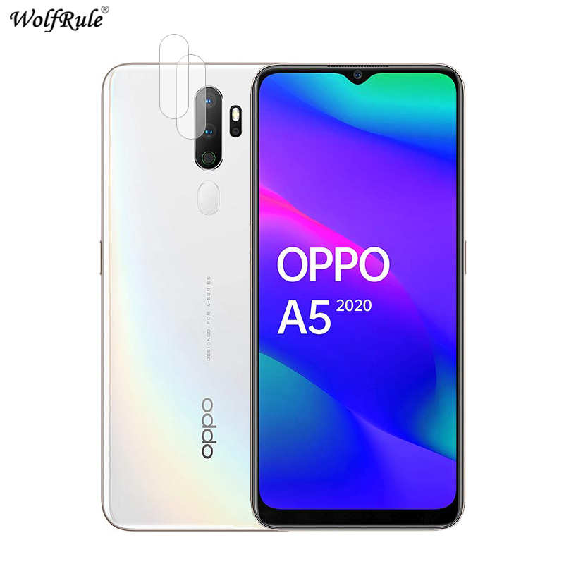 2Pcs For OPPO A5 2020 Back Camera Lens Screen Protector Flexible Fibre Glass For OPPO A9 2020 Protective Film For OPPO A11X