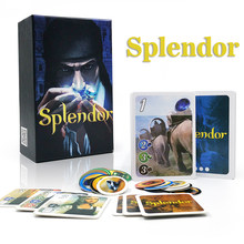 2021 Splendor Board Game Investment & Financing card games for kids adult home Family party fun Spanish&English rules