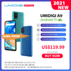 "In Stock UMIDIGI A9 Smart Phone Android 11 Global Version 13MP AI Triple Camera Helio G25 Octa Core 6.53"" HD+ 5150mAh Cellphone"