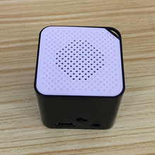 Indoor Outdoor 3x3cm Mini Listen Music Portable Rechargeable Anti Interference Home Travel Support 16G TF Card MP3 Player