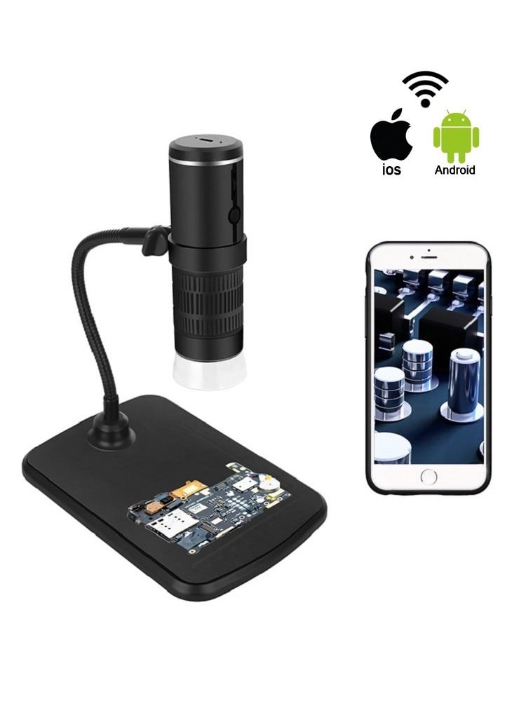 1000X Digital Microscope HD 1080P LED USB WiFi Microscope Mobile Phone Microscope Camera