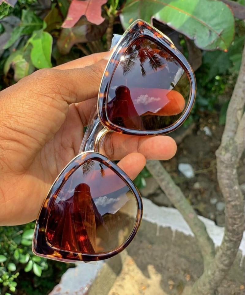Cat Eye Sunglasses 2019 Women Brand Designer Vintage Gradient Glasses Men Retro Cateye Sun Glasses Eyewear UV400