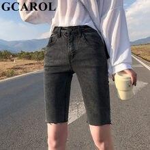 Gcarol Zomer Lente Hoge Taille Slanke Denim Jeans Stretch Sexy Boven Keen Lengte Shorts Plus Size 32 Street Wear 3 kleuren