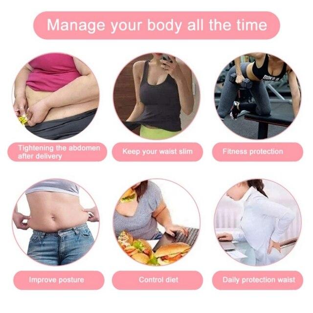 Women Sweat Sauna Suit Tank Top Sports Bra Slimming Corset With Adjustable Waist Shaper Belly Band Trainer Belt  Vest 5