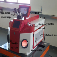 100w 200W Gold Silver Jewelry Laser Soldering Machine Portable 1064mm Laser Spot Welding Desktop Machine YAG Laser Source HOT