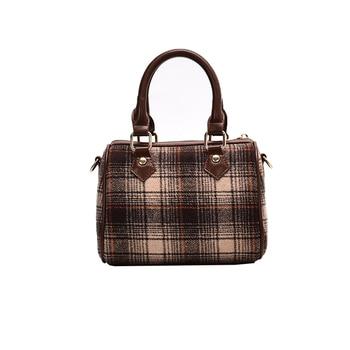 Bolso de invierno de alta calidad, pequeño, Retro, lujoso, a la moda, para mujer, 2019, bolso cruzado Popular Nuevo Bolso de Hombro Ins para mujer