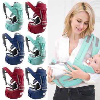 infant New Baby Carrier Infant Newborn Infant Breathable Ergonomic Adjustable Wrap Sling Backpack Kangaroo Sling
