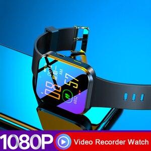 Image 5 - جديد فاخر فيديو صوت مسجل الصوت ساعة HD 1080P كاميرا DV DVR الذكية الفرقة سوار مع بلوتوث و لوحة معدنية رقيقة ضئيلة