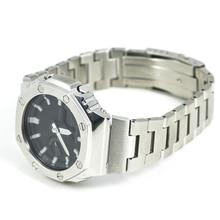 GA2100 Silver Set Watch Modification GA2100 Watchband Bezel 100% Metal 316L Stainless Steel