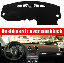 цена на For AUDI A3 2004 2005 2006 2007-2013 Right and Left Hand Drive Car Dashboard Covers Mat Shade Cushion Pad Carpets Accessories