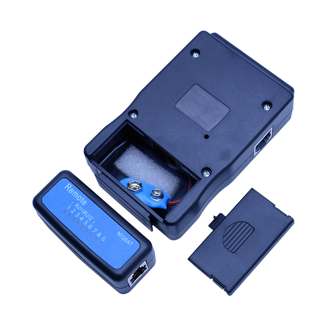Wholesale M726AT Network cable Tester LAN USB Ethernet Network RJ-45 Cat5 RJ11 cable finder 5