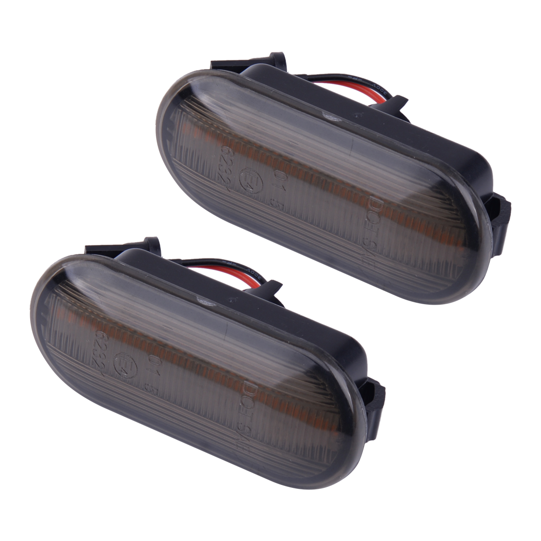 CITALL 2PCS 3W 12V Dynamic Flowing <font><b>LED</b></font> Side Marker Signal <font><b>Light</b></font> Fit For <font><b>VW</b></font> Golf Jetta Bora GTI R32 MK4 <font><b>Passat</b></font> <font><b>B5</b></font> New Beetle 2002 image