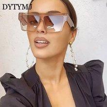 Dytymj ретро солнцезащитные очки с квадратными линзами Для женщин