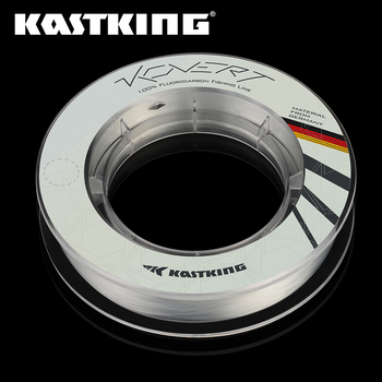 KastKing Kovert 100% Fluorocarbon Line Durable Sinking Leader