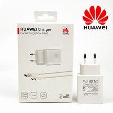 Huawei Mate 30 Pro süper şarj şarj cihazı orijinal 40W hızlı şarj Usb duvar adaptörü için Nova 5t 5 P20 p30 pro onur 20 V20 10