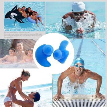 цена на NEW 6Pairs box-packed comfort earplugs noise reduction silicone Soft Ear Plugs Swimming Silicone Earplugs Protective for sleep