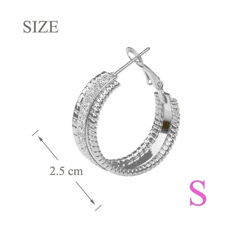small Hoop earring  SS