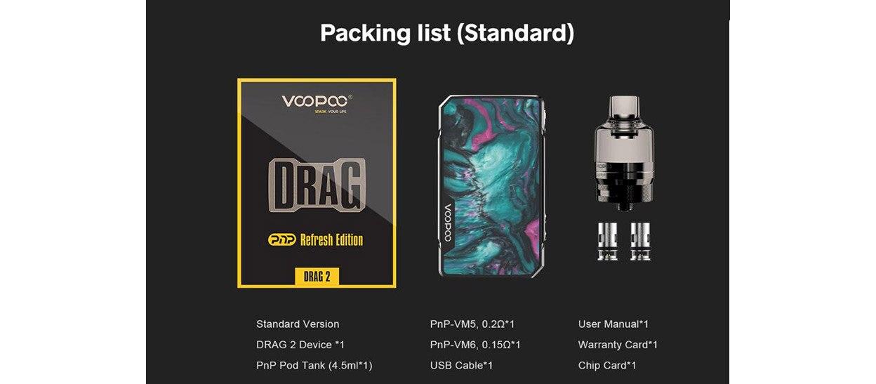 VOOPOO Drag 2 Refresh Kit