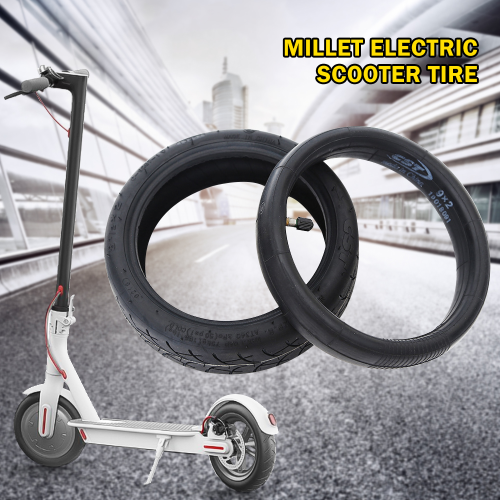 Ectric Scooter Tires Front Rear Wheel Tyre Cover And Inner Tube For Electric Scooter Skateboard Parts
