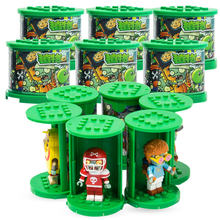 Plants vs Zombies Figures Building Blocks PVZ Action Figures Legoinglys Role Play Battles Learning Toys For Children Collection(China)