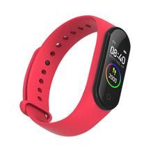 For M4 Smartband Waterproof Heart Rate Blood Pressure Sleep Monitoring Sports Watch Smart Bracelet