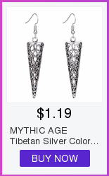 MYTHIC AGE Tibetan Silver Color Carved Flower Vintage Ethnic Drop Dangle Earrings Retail Jewelry Jewellery Gift For Women Girls 9