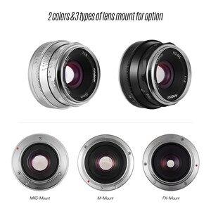 Image 2 - Andoer 25 مللي متر F1.8 عدسات تركيز يدوية بفتحة كبيرة للتصوير الفوتوغرافي لكاميرا فوجي فيلم FX Mount Mirrorless Canon EOS Olympus