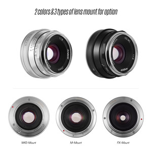 Image 2 - Andoer 25mm F1.8 Manual Focus Lens Large Aperture Photography for Fujifilm FX Mount Mirrorless Canon EOS Olympus Camera