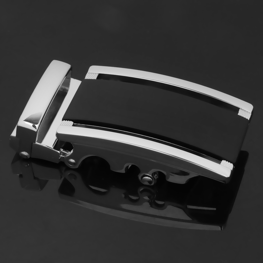 Cool Man Black Gray Belt Buckle Waistband Repair Accessory Buckle Fashion Men's Business Metal Automatic Buckle
