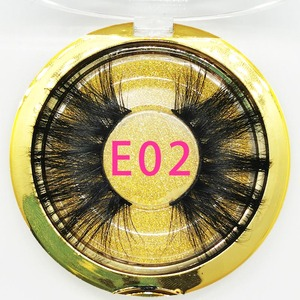 Image 3 - 30/50/100 Pairs 25mm Lashes Vip Momo Eyelashes 3D Mink Lashes Handmade Dramatic Lashes Cruelty Free Mink Lashes Free Custom Logo