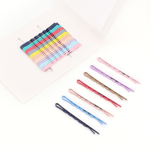 Rainbow Color Spiral Bobby Pins