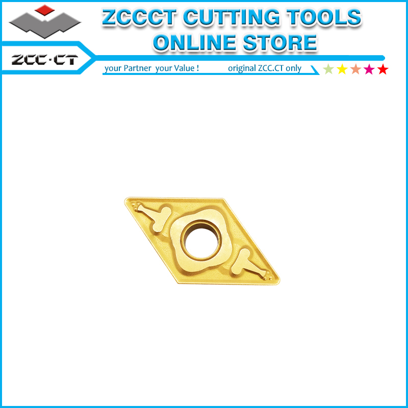 ZCC Turning Tool Cutter DNMG150604-ZM YB6315 ZCC-CT Lathe Tools Part DNMG150604 For Finishing To Medium Cut Of Steel
