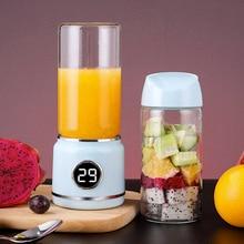 420 мл 6 лопастей блендер соковыжималка чашка с замком безопасности Электрический, для овощей фруктовый цитрусовый сок смузи чайник бутылка для смешивания