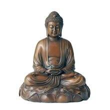Статуэтка Будды из чистой бронзы