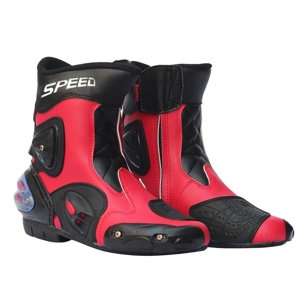 Motorrad Racing Stiefel Motorrad Radfahren Sport Schuhe-40/41/42/43/44/45