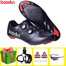 BOODUN Road Cycling Shoes Professional Road Bike Men Sneakers Women Athletic Comfortable Racing Bicycle Training Sports Shoes