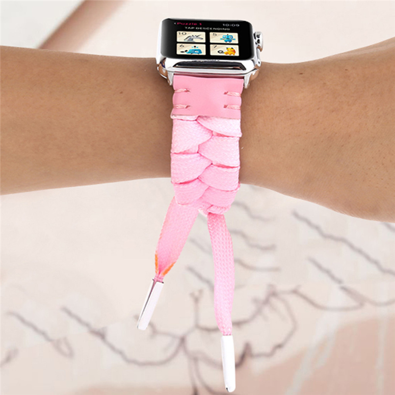 Woven mesh strap with high quality soft sports strap advanced woven strap replacement strap for apple watch 40mm 20O17 (30)