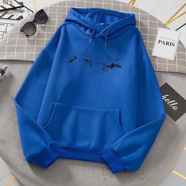Winter Skuggnas Creation Hands Line Art Sweatshirts Oversized Hoodie Kawaii Jumper Outfits Tumblr Gothic Aesthetic Harajuku 4
