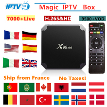 X96mini Android Tv Box IPTV subscription france Italy Arabic