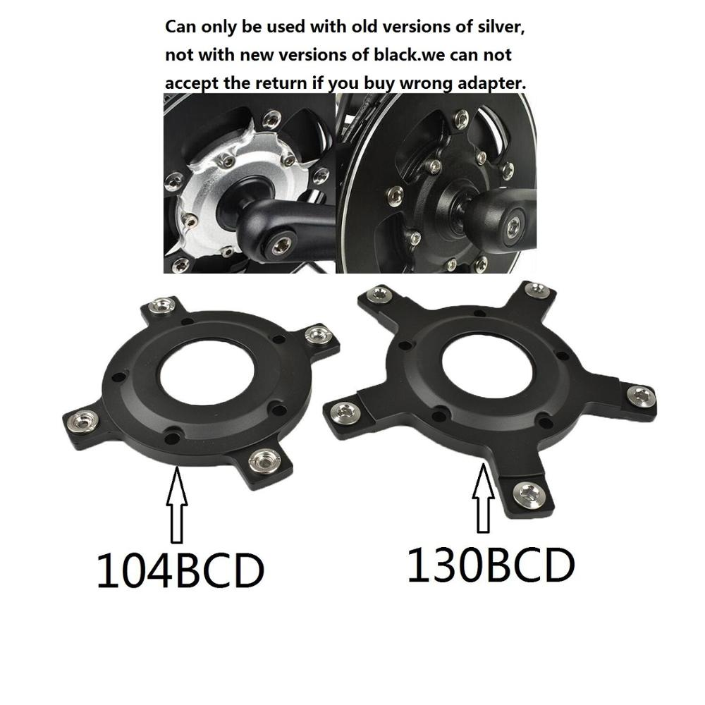 Chain Ring Spider Adapter Gearing 130BCD For Tongsheng Mid Drive Motor System