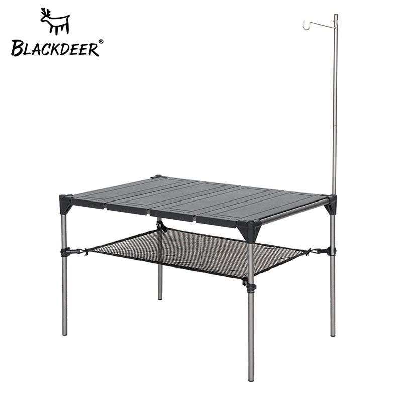 Blackdeer mesa de acampamento ao ar livre liga de alumínio mesa dobrável portátil piquenique pesca mesa de cerveja leve à prova de chuva destacável