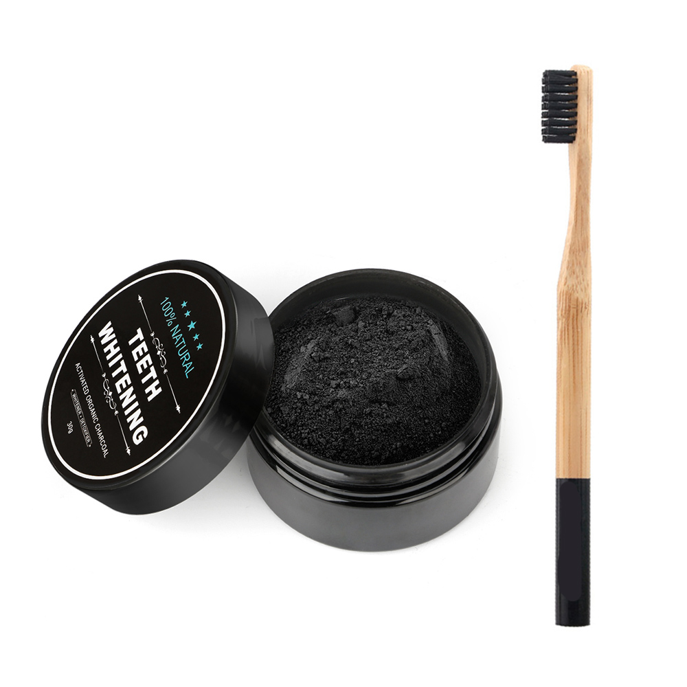Cosmetics - Tooth Care Natural Activated Charcoal Teeth Whitening Powder Toothpaste Oral Hygiene Dental