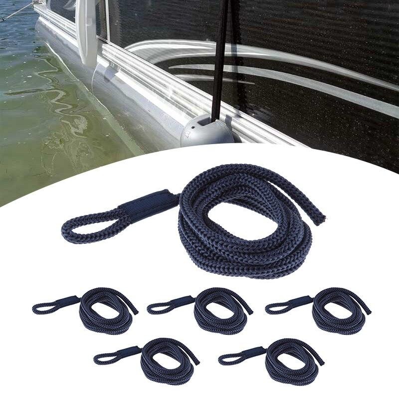 6 pièces ligne de garde-boue de bateau 0.24