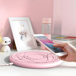 anime cardcaptor card captor sakura sailor moon wireless charger Fast Charging