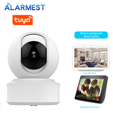 ALARMEST WiFi Security Camera 1080P Home Security HD CCTV Camera Tuya Smart life Auto-tracking  Powered by Tuya
