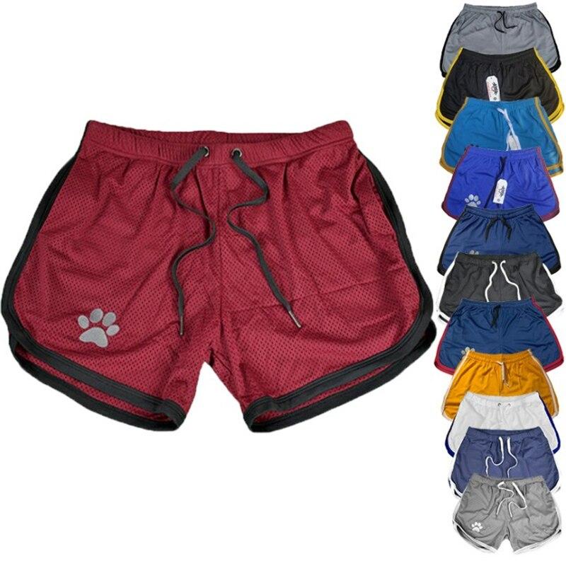 2020 homens ginásios calções de fitness dos homens verão de secagem rápida casual respirável calças curtas masculino jogger workout praia 22 tipos de cor