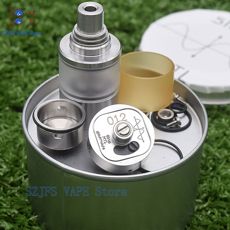 Yftk Siren V2 GTA MTL Vape Tank 22mm Diameter 2ml Capacity E Cigarette Tank Atomizer Airflow Options Adjustment Vs Sine Mtl Gtr