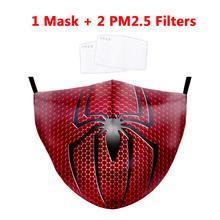Halloween Masquerade Cosplay maska maska do twarzy na zimę k-pop bawełna maska przeciwpyłowa dwuwarstwowa czarna ciepła maska świąteczna impreza śmieszne maski tanie tanio spandex Octan NONE Chin kontynentalnych Drukuj Masks